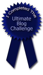 This is How I Completed the Ultimate Blog Challenge and Won a Badge