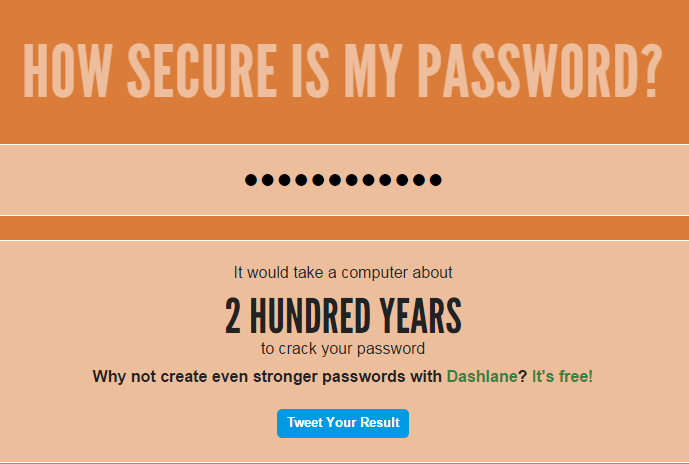 HowSecureismyPassword_Screenshot